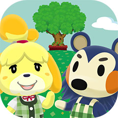 『どうぶつの森 ポケットキャンプ』アプリアイコン © Nintendo.