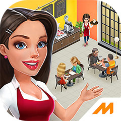 『My Cafe: Recipes & Stories』アプリアイコン ©Melsoft Games