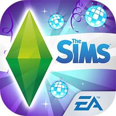 『The Sims フリープレイ』アプリアイコン(ダンスパーティー・アップデート)©Electronic Arts Inc.