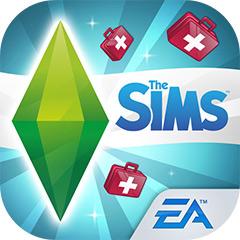 『The Sims フリープレイ』アプリアイコン(病院アップデート)©Electronic Arts Inc.