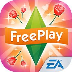 『The Sims フリープレイ』アプリアイコン(ラブ&トレジャー・アップデート)©Electronic Arts Inc.
