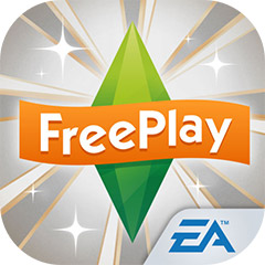 『The Sims フリープレイ』アプリアイコン(高級リビング・アップデート)©Electronic Arts Inc.