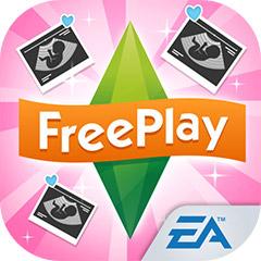 『The Sims フリープレイ』アプリアイコン(妊娠アップデート)©Electronic Arts Inc.