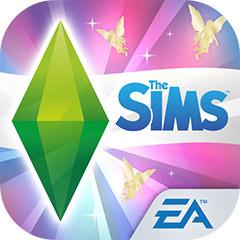 『The Sims フリープレイ』アプリアイコン(王子と手のひらサイズのお姫様アップデート)©Electronic Arts Inc.