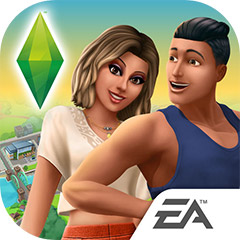 『The Sims シムズ ポケット』アプリアイコン ©Electronic Arts Inc.
