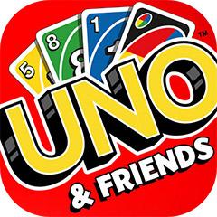 『UNO ™ & Friends』アプリアイコン ©Gameloft. ©Mattel, Inc.
