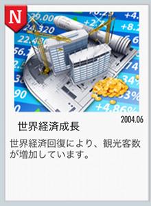 世界経済回復のお知らせ(エアタイクーンオンライン2)