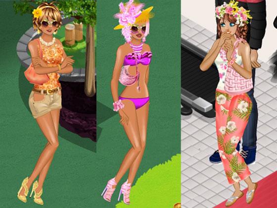 トロピカル・ファッションの女の子たち3(Campus Life)
