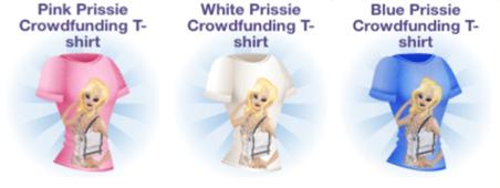 Prissie Crowdfunding T-shirts(Campus Life)