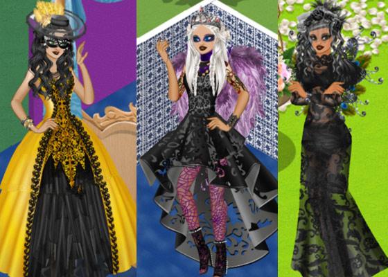 ゴシック・ファッションの女の子たち2(Campus Life)