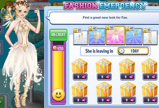 Fashion Emergency: Fae (Campus Life)