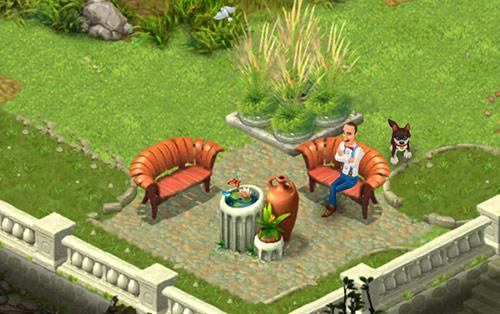 まだ草っ原ばかりの庭〈ガーデンスケイプ(Gardenscapes)〉