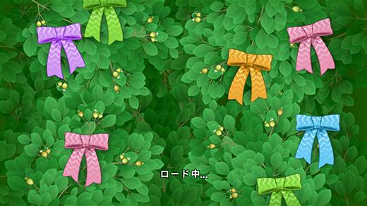 イースターイベント、リボン飾りのロード画面:ガーデンスケイプ(Gardenscapes)