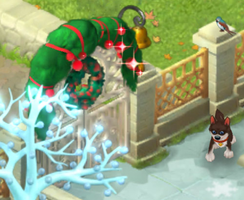 クリスマスコレクション「魔法の門」:ガーデンスケイプ(Gardenscapes)