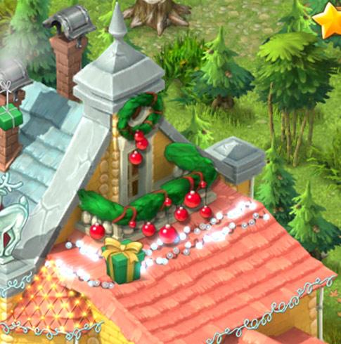 クリスマスコレクション「キラキラの明かり」バルコニー:ガーデンスケイプ(Gardenscapes)