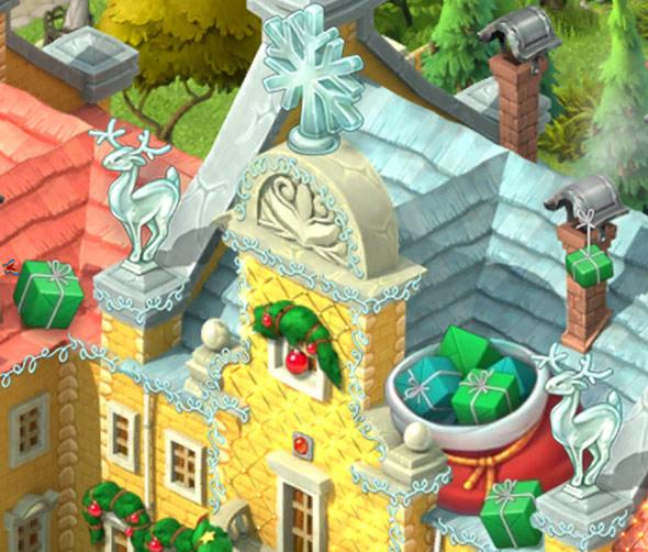 クリスマスコレクション「サンタのお客」:ガーデンスケイプ(Gardenscapes)