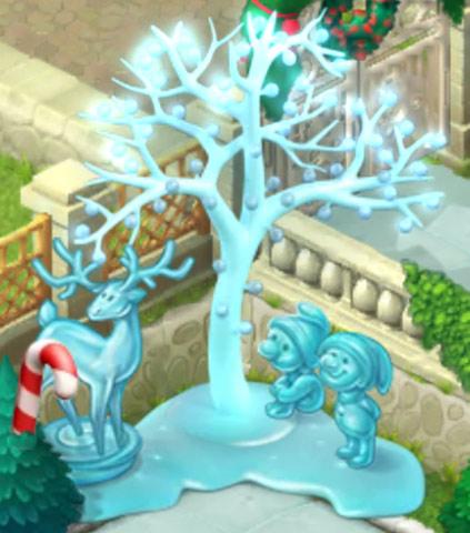 クリスマスコレクション「雪の小道」:ガーデンスケイプ(Gardenscapes)