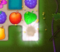 弾き飛ばされた蜂蜜:ガーデンスケイプ (Gardenscapes)