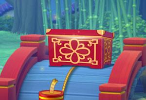 中国の旧正月イベントのプレゼントの箱:ガーデンスケイプ (Gardenscapes)