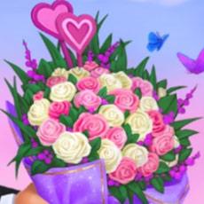 バレンタインのバラの花束:ガーデンスケイプ (Gardenscapes)