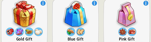 Gold Gift, Blue Gift, Pink Gift(My Cafe: Recipes & Stories)