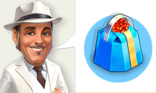 Fernando & Blue Gift (My Cafe: Recipes & Stories)