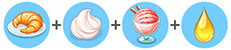 イチゴとクリームのクロワッサン(マイカフェ:レシピ&ストーリー)