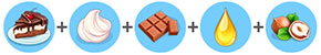 ナッツ入りチョコレートケーキ(マイカフェ:レシピ&ストーリー)