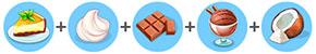 チーズケーキ「コントラスト」(マイカフェ:レシピ&ストーリー)