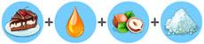 塩ブラウニー(マイカフェ:レシピ&ストーリー)