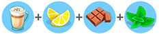 レモンミントラテ(マイカフェ:レシピ&ストーリー)