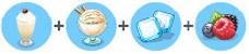 リフレッシュミルクシェイク(マイカフェ:レシピ&ストーリー)
