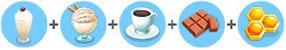 甘党コーヒーミルクシェイク(マイカフェ:レシピ&ストーリー)