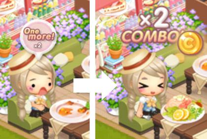 2コンボ(どきどきレストラン)