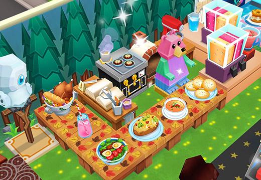 森のクマさんカフェ(レストランストーリー2)