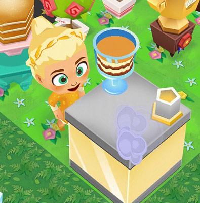 スノーオーブンを設置すると現れるキュートなシェフ(レストランストーリー2)