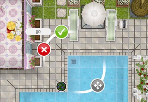 無料の1台目自動プール掃除機(The Sims フリープレイ)