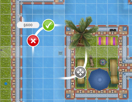 600シムオリオンの2台目自動プール掃除機(The Sims フリープレイ)