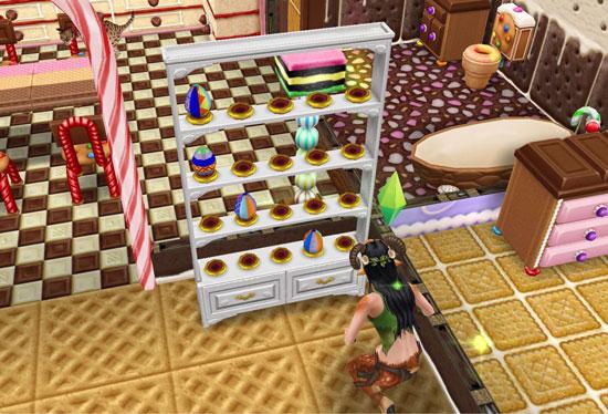 エッグの集まってないエッグハンターケース(The Sims フリープレイ)