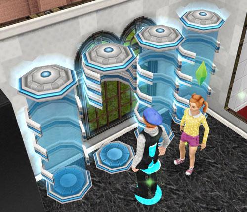 テレポーター(The Sims フリープレイ)
