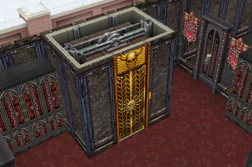 呪われたエレベーター(The Sims フリープレイ)
