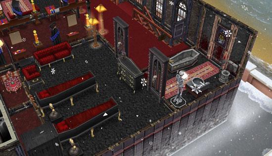 呪いの館のゲストルーム1(The Sims フリープレイ)