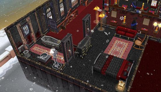 呪いの館のゲストルーム2(The Sims フリープレイ)