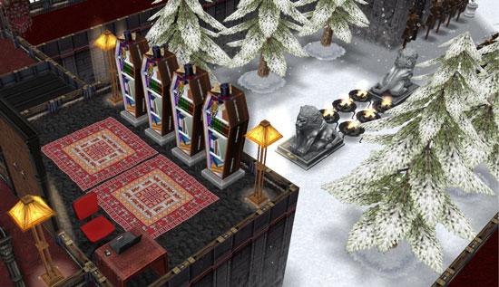 呪われた図書室(The Sims フリープレイ)