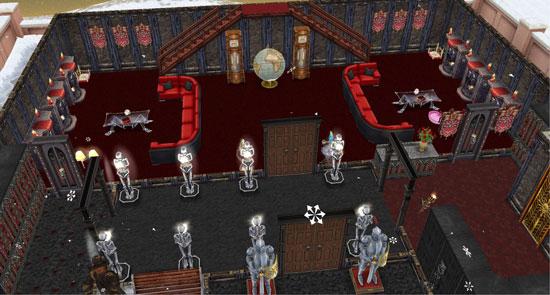 骸骨の回廊と呪われたパーティーホール(The Sims フリープレイ)