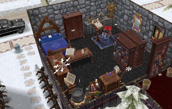 魔法使いの秘密部屋(The Sims フリープレイ)
