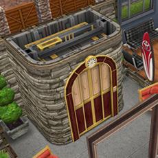 高級エレベーター(The Sims フリープレイ)