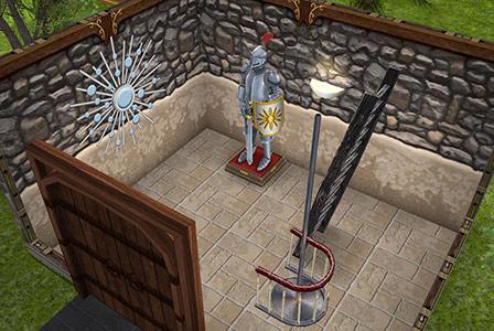 塔1階(The Sims フリープレイ)