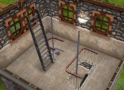 塔2階(The Sims フリープレイ)