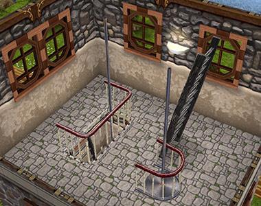 塔3階(The Sims フリープレイ)